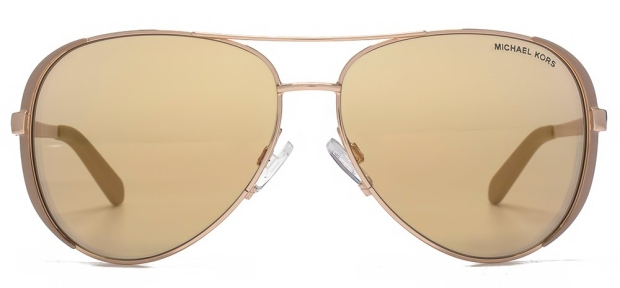 Michael Kors The Chelsea Aviators Gold and Rose