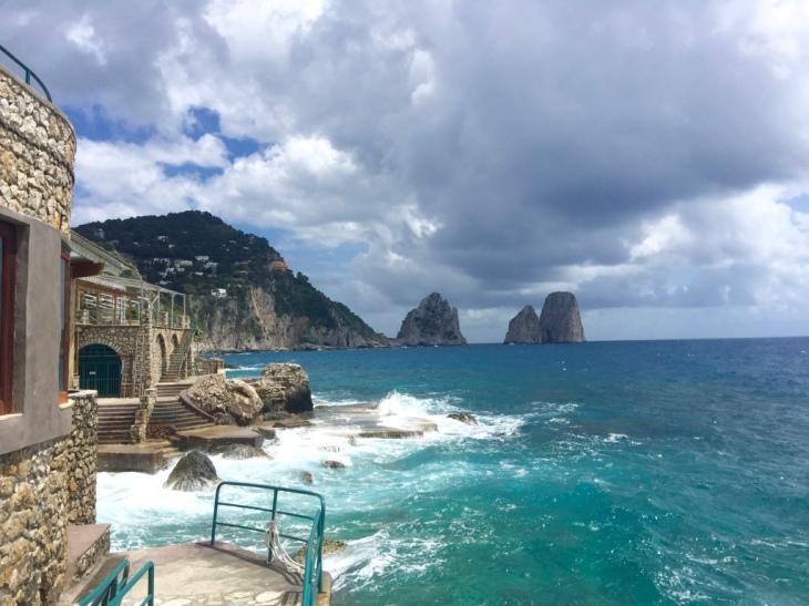 Calzone Del Mare, Capri © Hailey Edy
