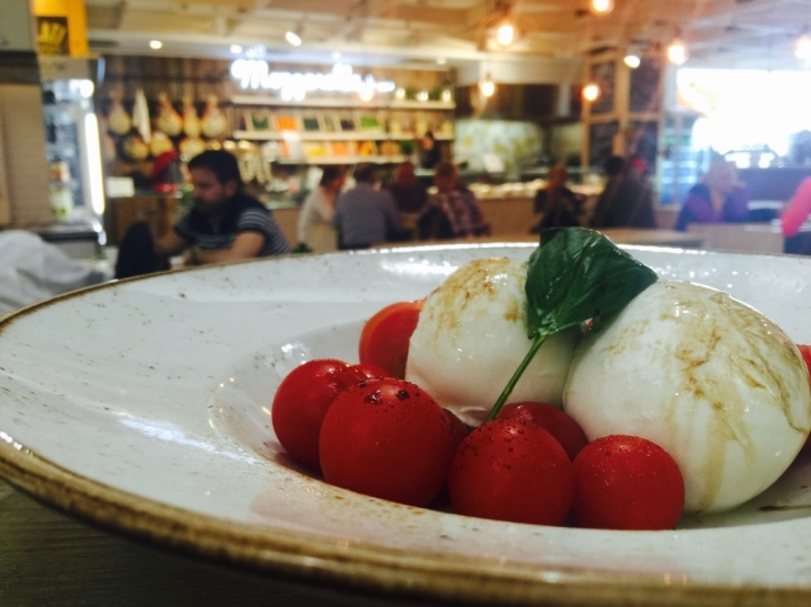 Buffalo Mozzarella, Capri © Hailey Edy