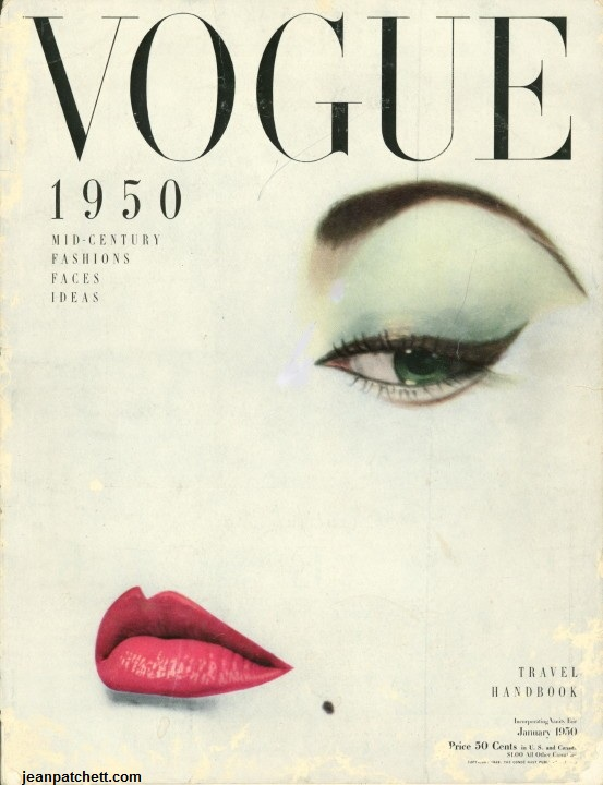 January Vogue Cover 1950/ ©JeanPatchett.com