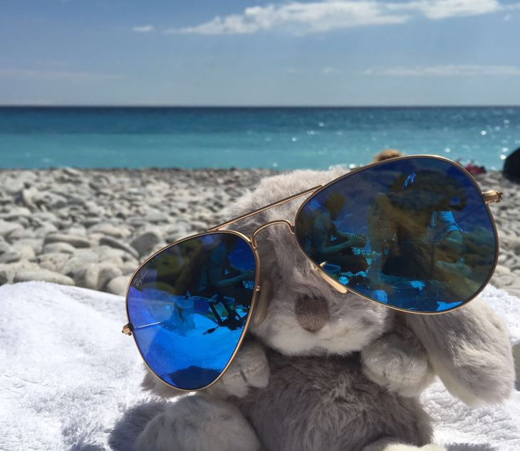 Ray-ban sunglasses © Trang Nguyen