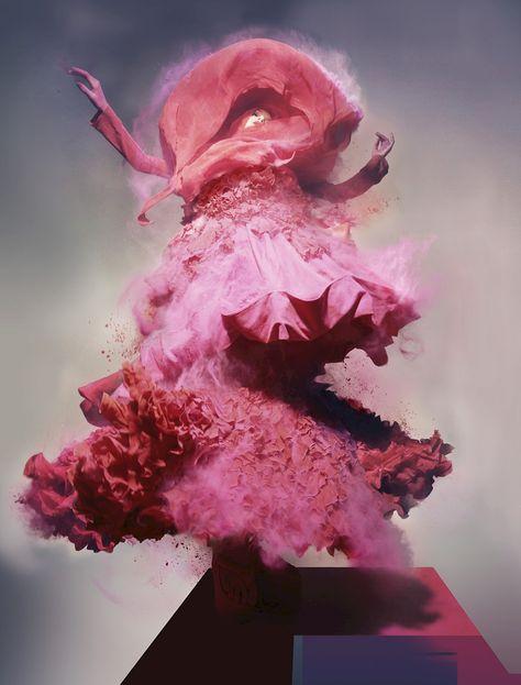 Lily Donaldson shot by Nick Knight, 2008 ©Nick Knight