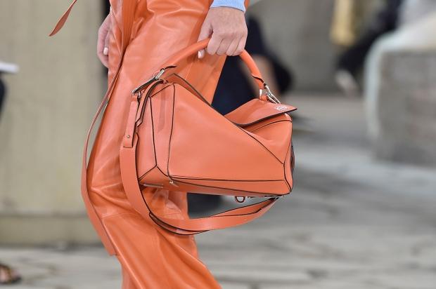Orange Puzzle Bag © Loewe