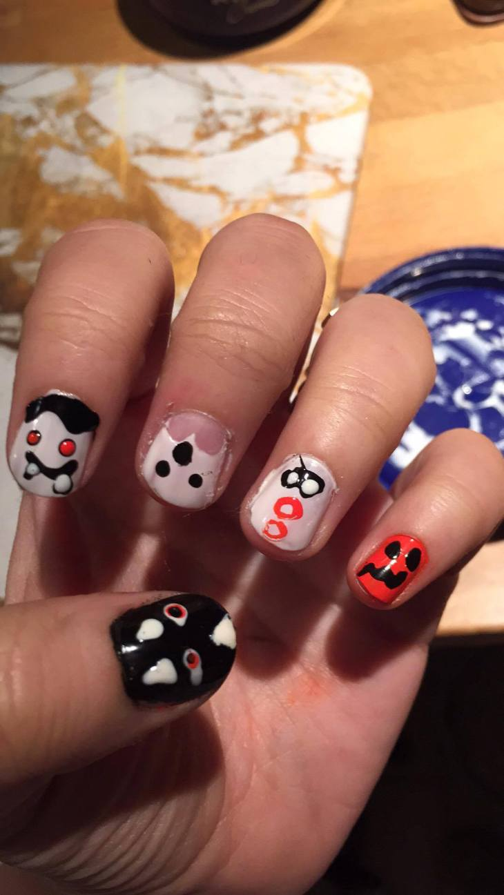 Goofproof Halloween Nails