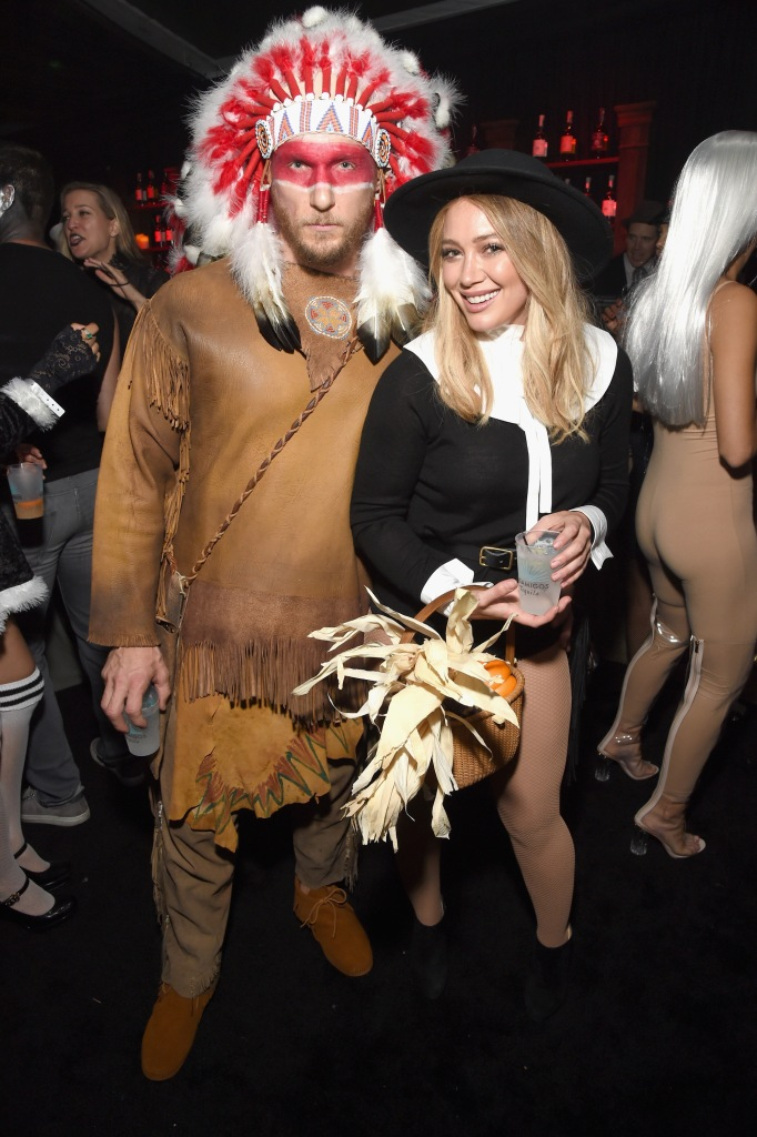 BEVERLY HILLS, CA - OCTOBER 28: Hilary Duff (R) and Jason Walsh attend the Casamigos Halloween Party at a private residence on October 28, 2016 in Beverly Hills, California. (Photo by Michael Kovac/Getty Images for Casamigos Tequila)