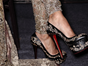 Louboutin Shoes for Couture 2015