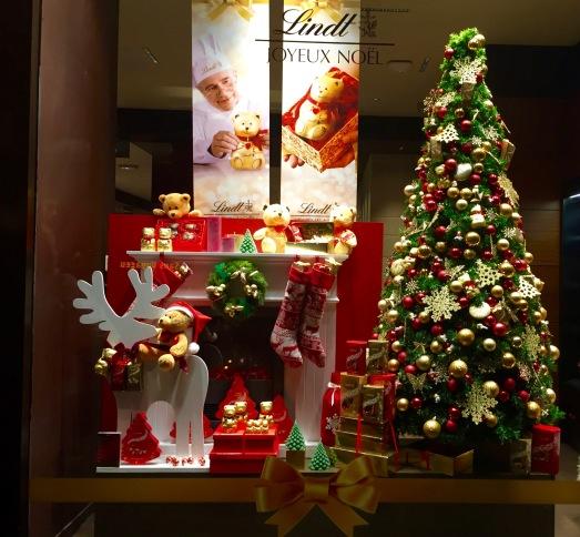 Lindt Christmas Window