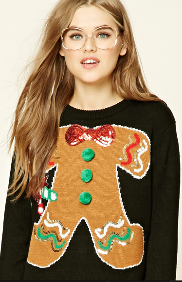 Gingerbread Cookie Jumper | Forever21