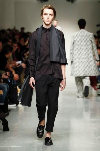 Matthew Miller, Fashion Show, Menswear Collection Fall Winter 2017 in London