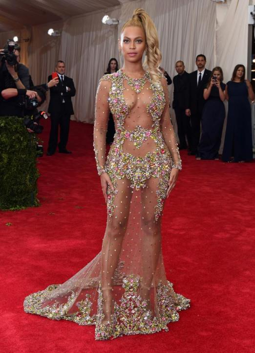 Beyoncé at the MET GALA wearing Givenchy