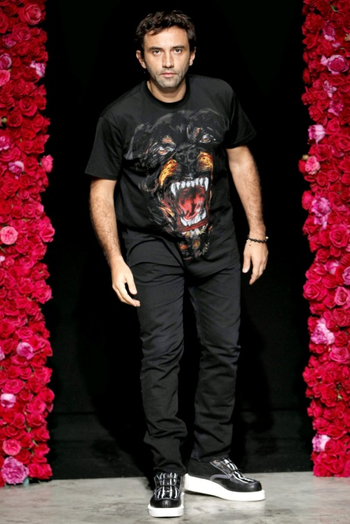 The Rottweiler T-shirts worn by Ricardo Tisci