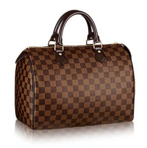 louis-vuitton-speedy-30-damier-ebene-canvas-handtaschen--N41364_PM2_Front view