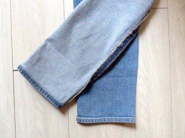 Frayed hem jeans3
