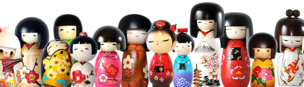 all-kokeshi-dolls
