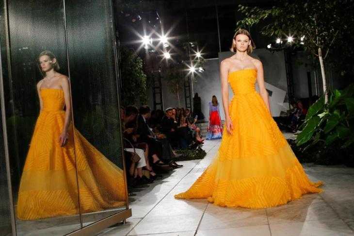 Carolina Herrera Fashion Show at MoMA