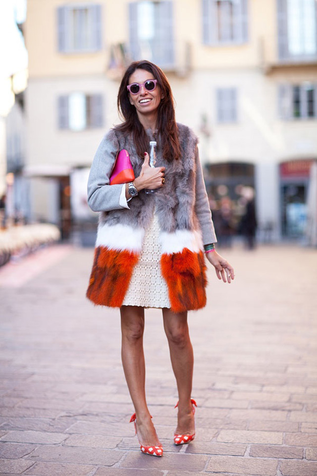fur Harper's Bazzar (Fashion editor and stylist Viviana Volpicella)