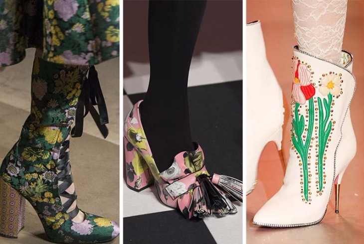 fall_winter_2017_2018_shoes_trends_floral_print_shoes_boots